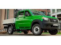 Кузов УАЗ ПРОФИ двухрядная кабина 4х4,(зеленый металлик)