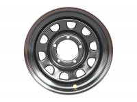 Диск усиленный УАЗ стальной черный 5x139,7 8xR16 d110 ET-19, OFF-ROAD Wheels