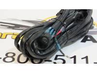 Комплект проводки для подключения светодиодных фар (балок) для одной фары (переключатель) 40А