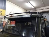 Кронштейн для установки веткоотсекателей на УАЗ-452
