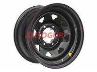 Диск колесный стальной УАЗ R15 OFF-ROAD Wheels 1580-53910 BL -19 А17 (черный)