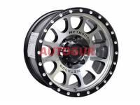 Диск колесный литой M2 черно-серебристый 16x8 5X139.7 d108 ET 0 PDW