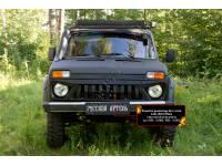 Решетка «Злая» радиатора без сетки Lada (ВАЗ) Нива 2131 -, шагрень, оригинал