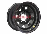 Диск колесный стальной штампованный Нива, Шевроле Нива 1570-53998 BL ЕТ (+25) А17 (черный) OFF-ROAD Wheels